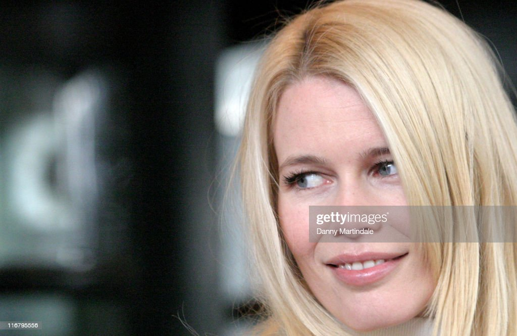 Claudia Schiffer during South Bank Show Awards 2007 at The Savoy in London, Great Britain.