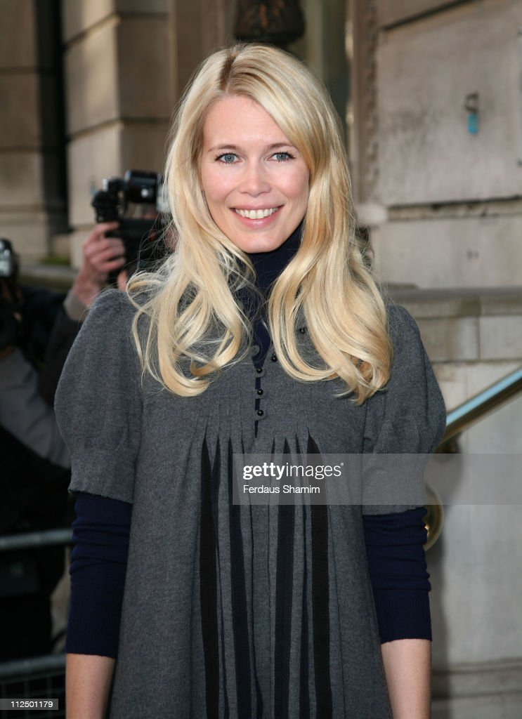 Claudia Schiffer during The Old Vic Fundraiser - VIP Lunch - Arrivals at Fifty in London, Great Britain.