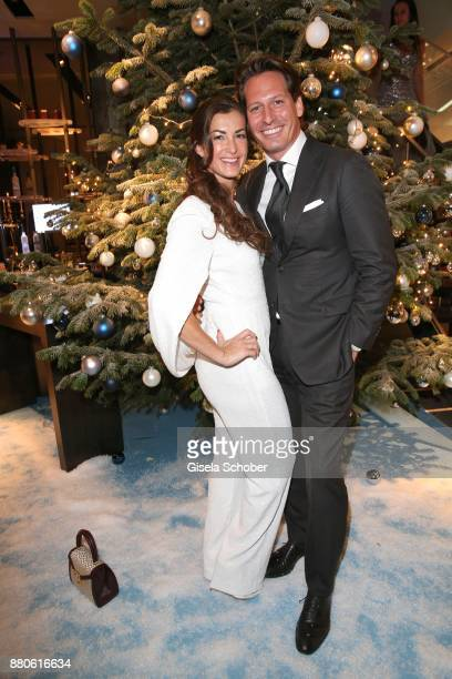 Claudia Schwarz Instyle productions and Axel Ludwig Director Hotel Vier Jahreszeiten during the DressHeaven 2017 Christmas party by 'dresscoded' at...