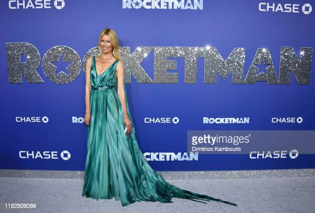 Claudia Shiffer attends the Rocketman New York Premiere at Alice Tully Hall on May 29 2019 in New York City