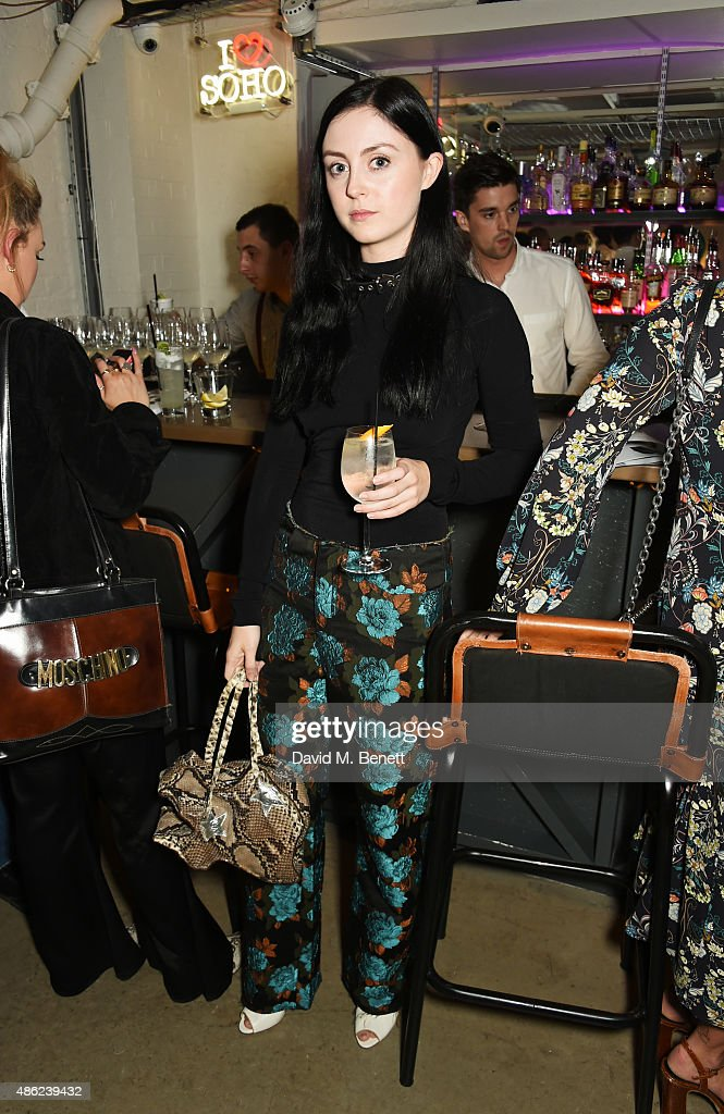 Claudia Sinclair attends as Iconic British fashion label RED OR DEAD and London based NEWGEN design talent Ashley Williams celebrate the launch of the second phase of their exclusive Ashley Williams x RED OR DEAD footwear collaboration at Lights Of Soho on September 2, 2015 in London, England.