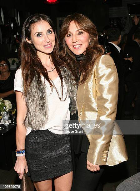 Claudia Soare and Anastasia Soare attend the Beauty of Giving to Benefit The Anastasia Brighter Horizon Foundation event held at Trousdale on...