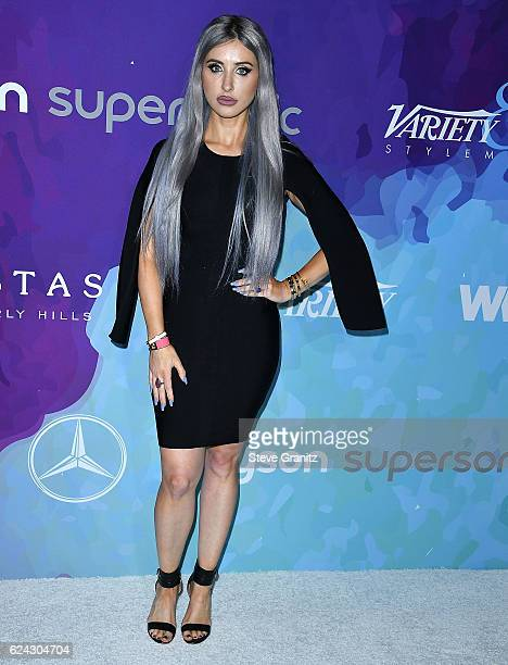 Claudia Soare arrives at the Variety And WWD Host 2nd Annual StyleMakers Awards at Quixote Studios West Hollywood on November 17 2016 in West...