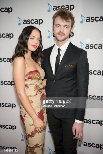 Claudia Sulewski and Finneas arrives at the 36th Annual ASCAP Pop Music Awards at The Beverly Hilton Hotel on May 16 2019 in Beverly Hills California