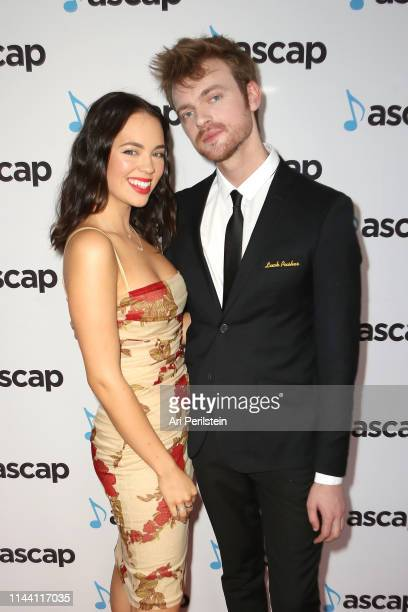 Claudia Sulewski and Finneas attend the ASCAP 2019 Pop Music Awards at The Beverly Hilton Hotel on May 16 2019 in Beverly Hills California