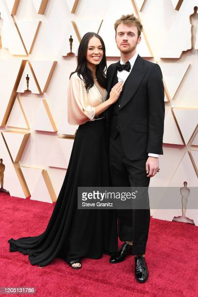 Claudia Sulewski and Finneas O'Connell attend the 92nd Annual Academy Awards at Hollywood and Highland on February 09, 2020 in Hollywood, California.