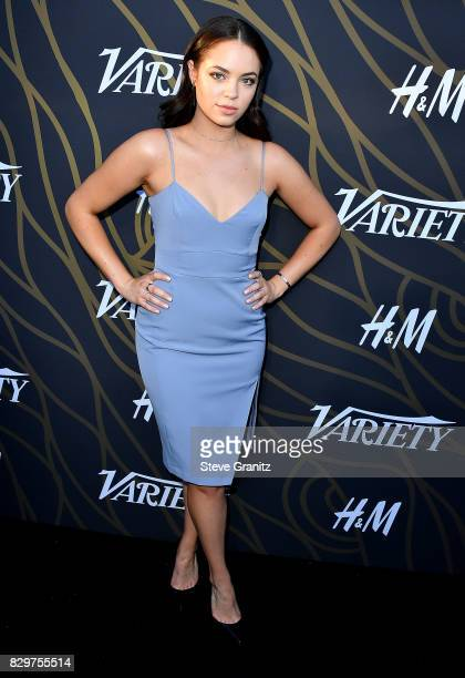Claudia Sulewski arrives at the Variety Power Of Young Hollywood at TAO Hollywood on August 8 2017 in Los Angeles California