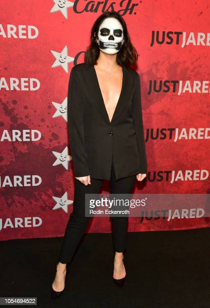 Claudia Sulewski attends Just Jared's 7th Annual Halloween Party at Goya Studios on October 27 2018 in Los Angeles California