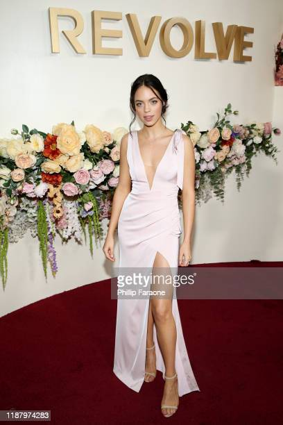 Claudia Sulewski attends the 3rd annual #REVOLVEawards at Goya Studios on November 15 2019 in Hollywood California