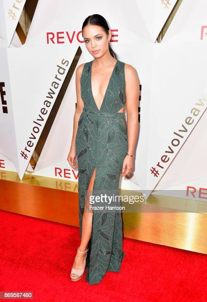 Claudia Sulewski attends the #REVOLVEawards at DREAM Hollywood on November 2 2017 in Hollywood California
