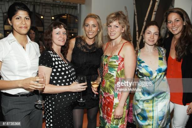 Claudia Tejeda, Nika Roback, Nicole Qualls, Challie Stillman, Dara Keithley and Samantha Goldman attend ELLE DECOR A-LIST at New York Design Center...