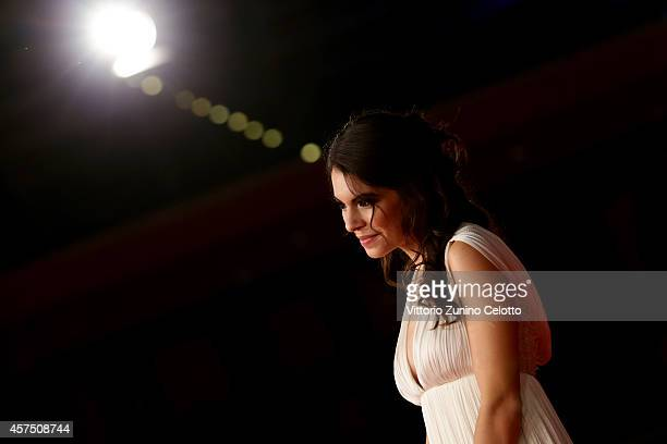 Claudia Traisac attends 'Escobar Paradise Lost' Red Carpet during the 9th Rome Film Festival at Auditorium Parco Della Musica on October 19 2014 in...