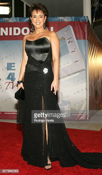 Claudia Trejos during 2004 Premios Inte Awards at Coconut Grove Convention Center in Coral Gables Florida United States