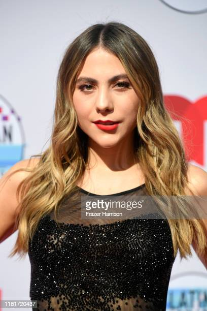 Claudia Vergara attends the 2019 Latin American Music Awards at Dolby Theatre on October 17 2019 in Hollywood California