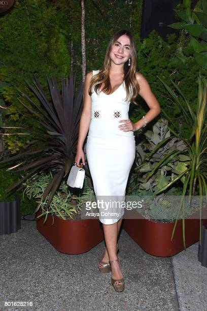 Claudia Vergara attends the Official Raze Launch Party at Smogshoppe on June 26 2017 in Los Angeles California