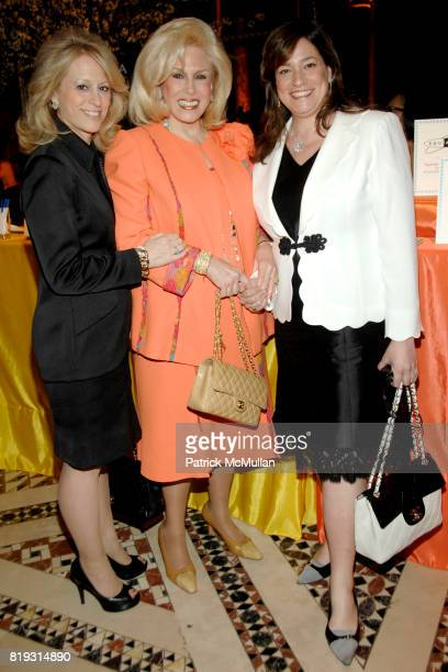 Claudia Warner Harriette Rose Katz and Melissa Rosenbloom attend THE FOOD ALLERGY INITIATIVE'S Spring Luncheon at Cipriani 42nd Street on April 21...