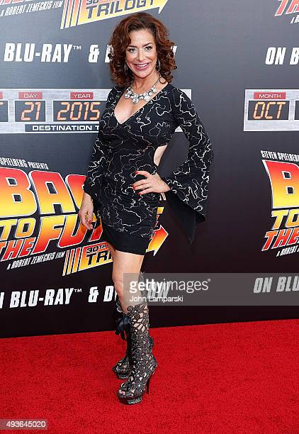 Claudia Wells attends 'Back To The Future' New York special anniversary screening at AMC Loews Lincoln Square on October 21 2015 in New York City
