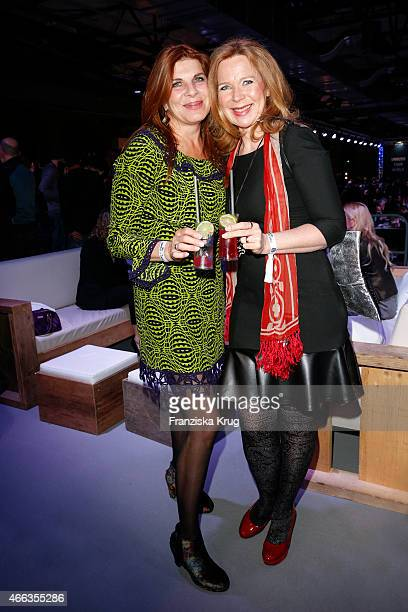 Claudia Wenzel and Marion Kracht attend the Spirit of Istanbul by Yeni Raki on March 14, 2015 in Berlin, Germany.