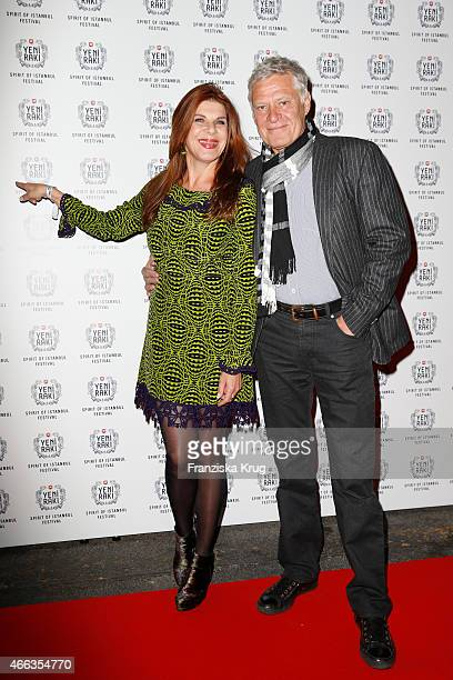 Claudia Wenzel and Ruediger Joswig attend the Spirit of Istanbul by Yeni Raki on March 14 2015 in Berlin Germany