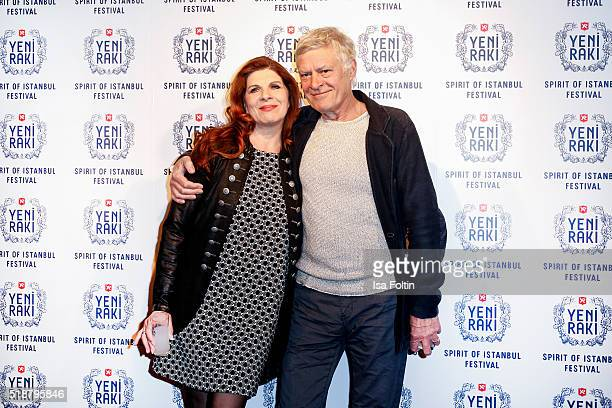 Claudia Wenzel and Ruediger Joswig attend the Spirit of Istanbul Festival on April 02 2016 in Berlin Germany