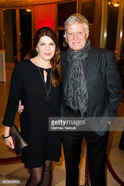Claudia Wenzel and Ruediger Joswig the BZ Kulturpreis 2017 at Staatsoper im Schiller Theater on January 24 2017 in Berlin Germany