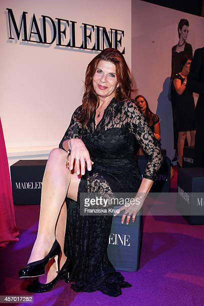 Claudia Wenzel attends Madeleine at Goldene Henne 2014 on October 10 2014 in Leipzig Germany