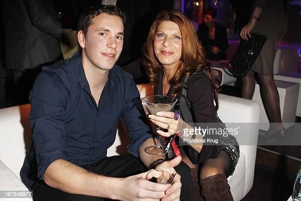 Claudia Wenzel Und Neffe Robert Wolf Bei Der Tele 5 Director'S Cut Night In Der Puro Sky Lounge Bei Der 60 Berlinale In Berlin