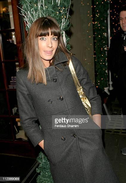 Claudia Winkelman during Asprey Party Arrivals at Asprey in London Great Britain