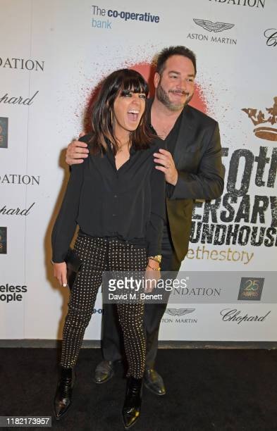 Claudia Winkleman and brother Oliver Lloyd join Patron of Centrepoint HRH The Duke of Cambridge young people supported by Centrepoint and the...