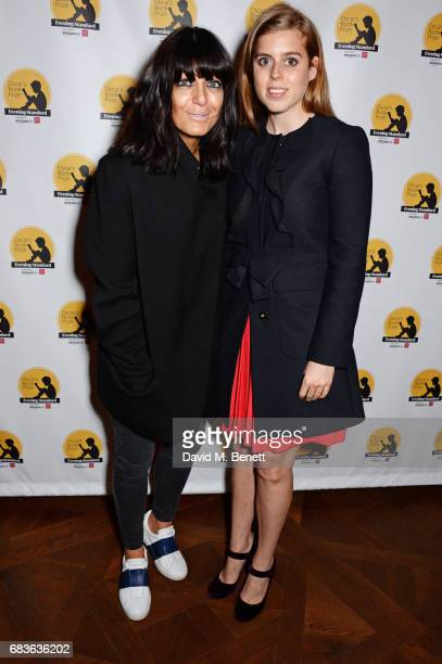 Claudia Winkleman and Princess Beatrice of York attend Oscar's Book Prize 2017 in association with the London Evening Standard at The Ned on May 15,...