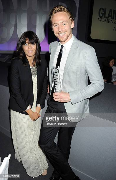 Claudia Winkleman and Tom Hiddleston attend an after party following the Glamour Women of the Year Awards in association with Pandora at Berkeley...