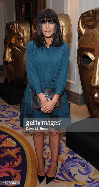Claudia Winkleman attends the BAFTA Nominees Party at The Corinthia Hotel on April 22 2015 in London England