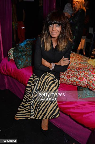Claudia Winkleman attends the LOVE Magazine 10th birthday party with PerrierJouet at Loulou's on September 17 2018 in London England