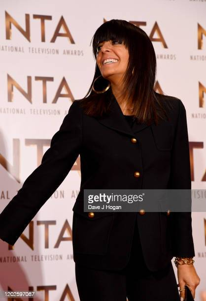 Claudia Winkleman attends the National Television Awards 2020 at The O2 Arena on January 28, 2020 in London, England.