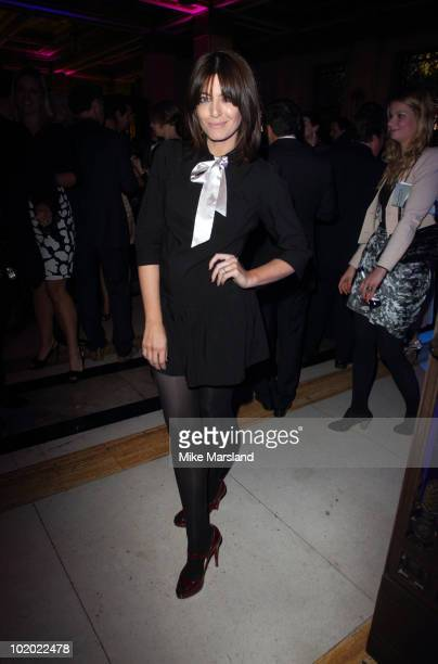 Claudia Winkleman attends the Quintessentially Awards at Freemasons Hall on June 1 2010 in London England