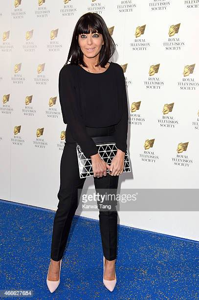 Claudia Winkleman attends the RTS Programme Awards at The Grosvenor House Hotel on March 17 2015 in London England