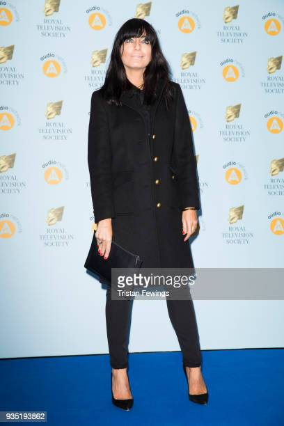 Claudia Winkleman attends the RTS Programme Awards held at The Grosvenor House Hotel on March 20 2018 in London England