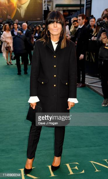 Claudia Winkleman attends the Tolkien UK premiere at The Curzon Mayfair on April 29 2019 in London England