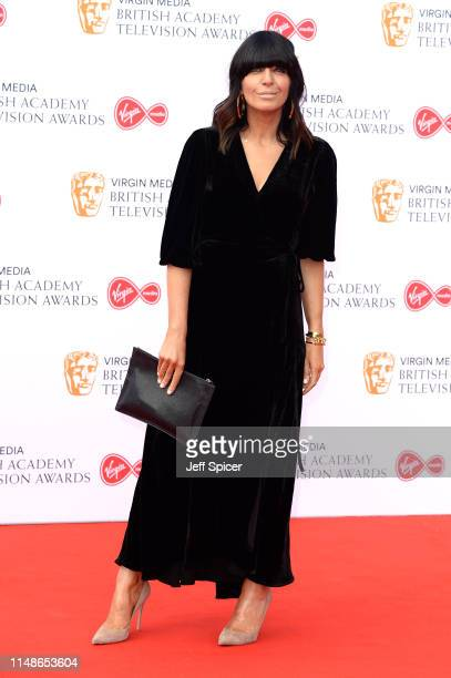 Claudia Winkleman attends the Virgin Media British Academy Television Awards 2019 at The Royal Festival Hall on May 12 2019 in London England
