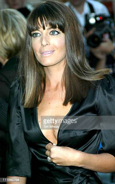 Claudia Winkleman during GQ Men of the Year Awards 2004 Arrivals at Royal Opera House in London Great Britain
