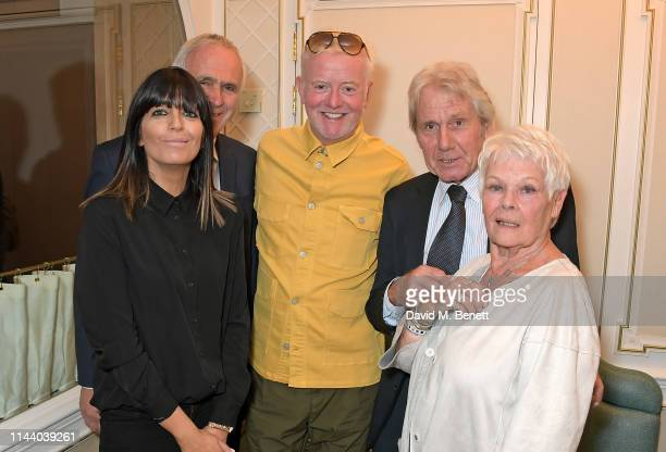 Claudia Winkleman guest Chris Evans David Mills and Dame Judi Dench attend the Fortnum Mason Food and Drink Awards at the Diamond Jubilee Tea Salon...