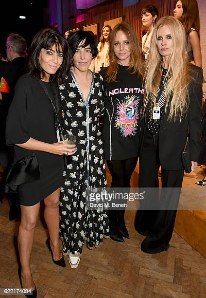 Claudia Winkleman Sharleen Spiteri Stella McCartney and Laura Bailey attend the Stella McCartney Menswear Launch and Women's Spring 2017 Collection...