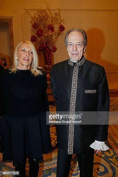Claudie Stolz and Monseigneur le Comte de Paris attend The Children for Peace Gala at Cercle Interallie on December 12 2014 in Paris France