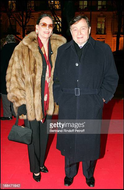 Claudine Auger and Peter Brent at 11th Gala Musique Contre L'Oubli In Benefit of Amnesty International