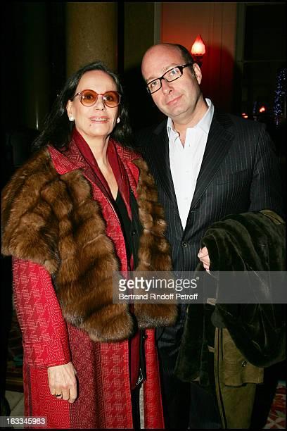 Claudine Auger and Richard Pestour at The Ruinart Pierre Herme Evening Celebration For Saint Valentin 2006