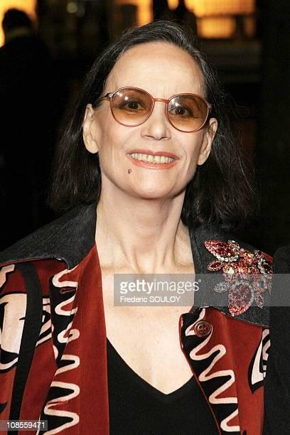 Claudine Auger in Paris, France on November 21, 2006.