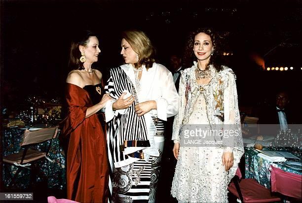 Claudine Auger Ira De Furstenberg And Marisa Berenson At The Cannes Film Festival 1994 Claudine AUGER Ira de FURSTENBERG et Marisa BERENSON lors du...