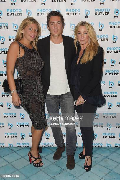 Claudine Deniro Fabian Basabe and Anna Rotschild attend Rosario Dawson Hosts The Launch Of Photo Butler At Art Basel With Anna Rothschild And...