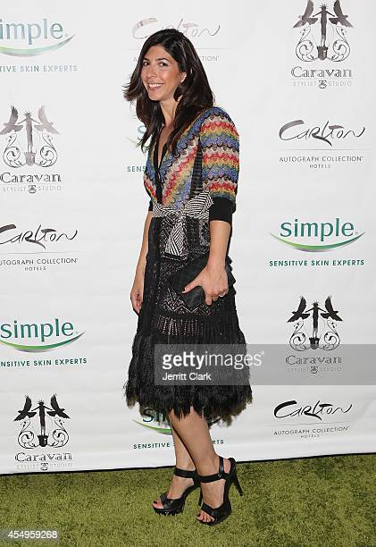 Claudine DeSola of Caravan attends the Simple Skincare & Caravan Stylist Studio Fashion Week Event on September 7, 2014 in New York City.