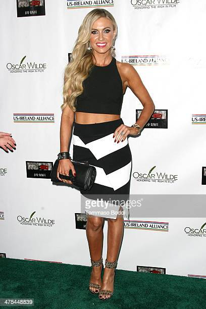 Claudine Keane attends the USIreland alliance preAcademy Awards event held at Bad Robot on February 27 2014 in Santa Monica California